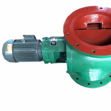 Rotary feeder of square flange unloader